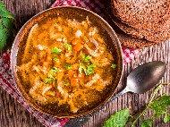 Рецепта Супа от агнешко шкембе